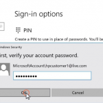 How to reset or change your password in windows 10